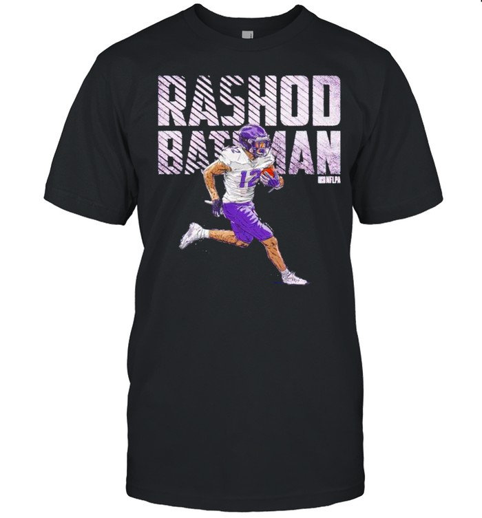Baltimore Football 12 Rashod Bateman bold shirt Classic Men's T-shirt