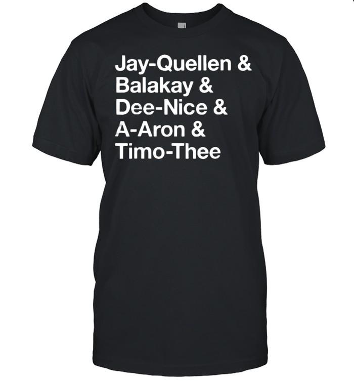 Jay Quellen Balakay Tino Substitute Teacher Names T- Classic Men's T-shirt
