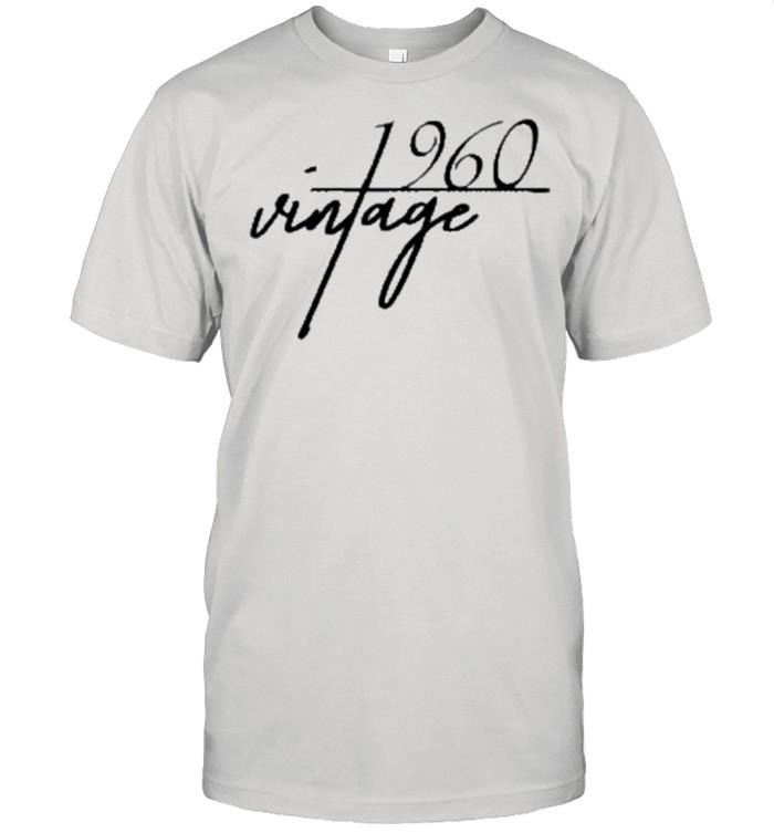 Vintage 1960 60th Birthday Classic shirt Classic Men's T-shirt