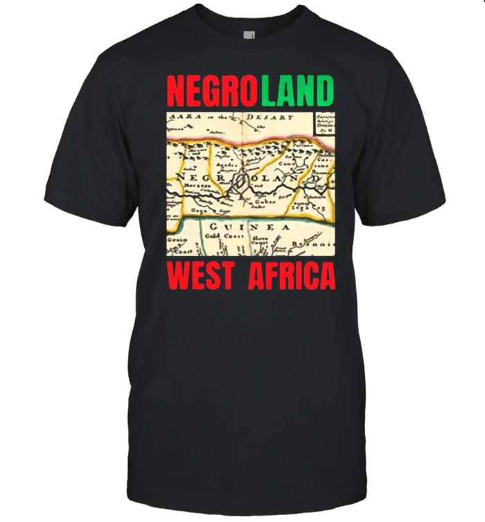 Negroland West Africa T-shirt Classic Men's T-shirt