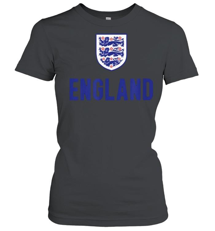 England Soccer Jersey 2020 2021 Euros Football Team T- Classic Women's T-shirt