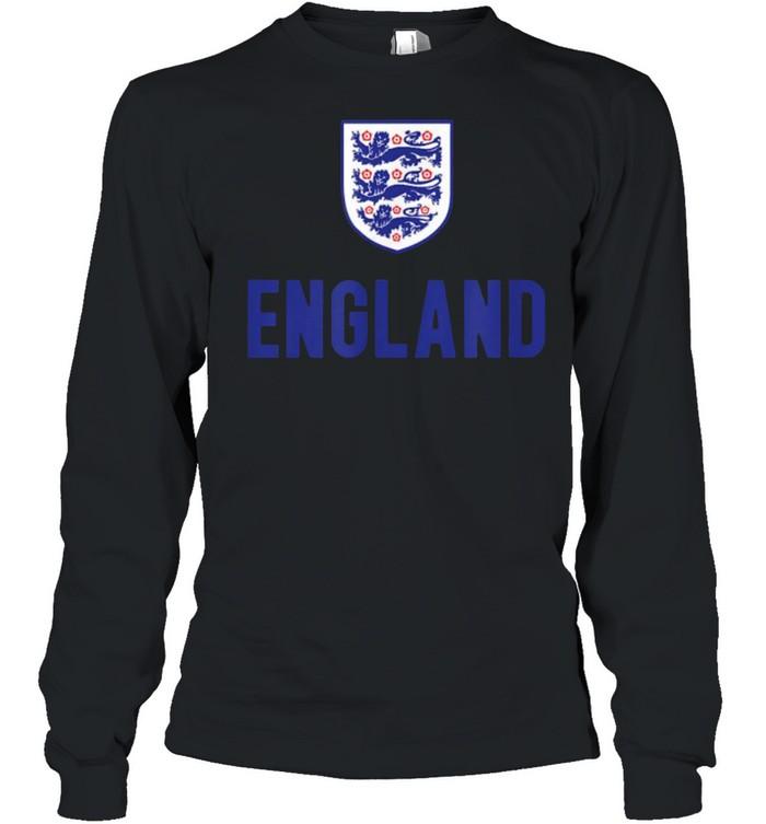 England Soccer Jersey 2020 2021 Euros Football Team T- Long Sleeved T-shirt
