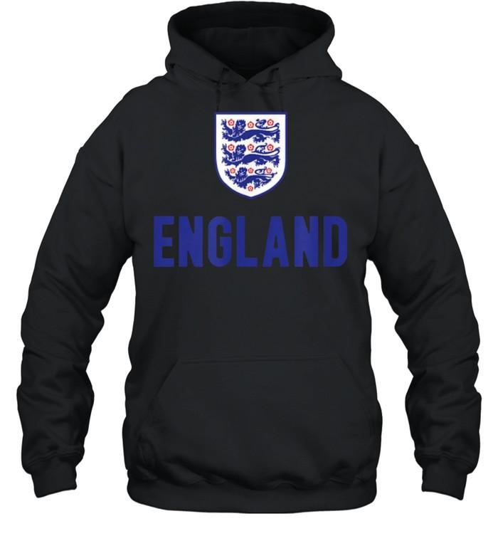 England Soccer Jersey 2020 2021 Euros Football Team T- Unisex Hoodie