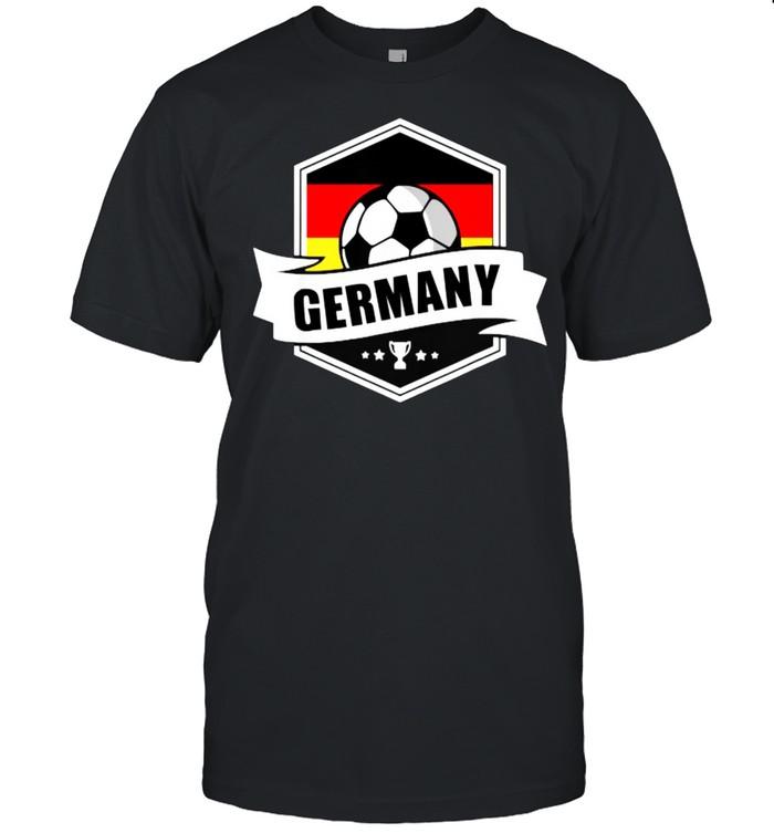 Germany Soccer Jersey 2021 German Flag Scarf Ball T- Classic Men's T-shirt
