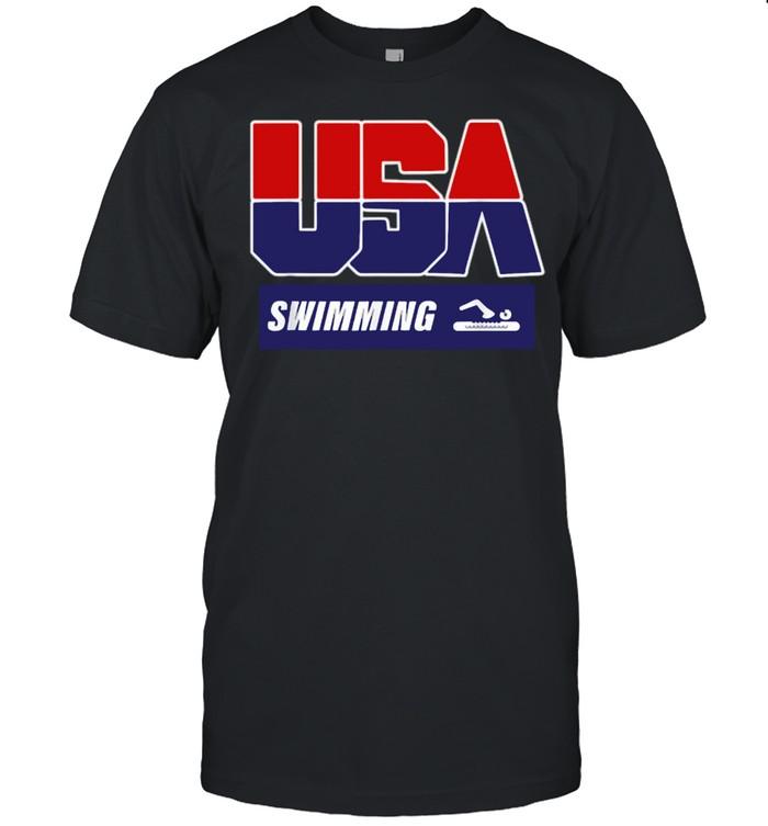 USA Swimming Tokyo Olympics 2021 T- Classic Men's T-shirt