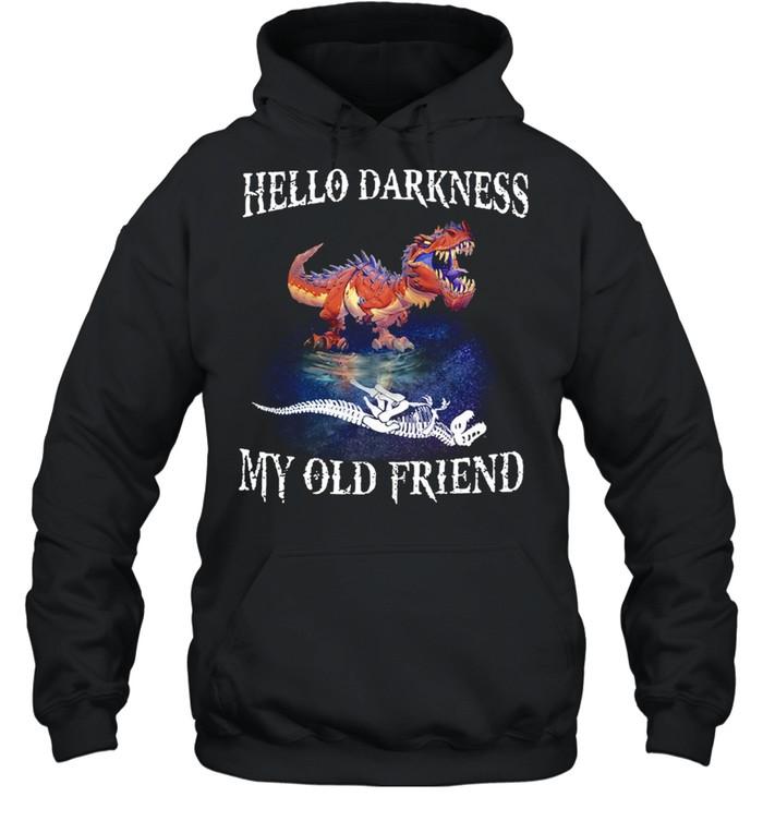 Hello Darkness My Old Friend  Unisex Hoodie