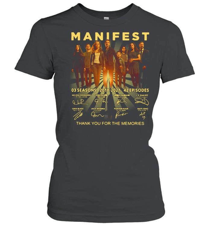 Manifest 03 Seasons 2018-2021 42 Episodes Signature  Classic Women's T-shirt