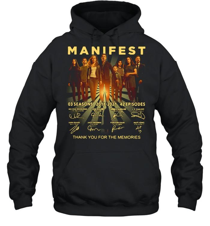 Manifest 03 Seasons 2018-2021 42 Episodes Signature  Unisex Hoodie