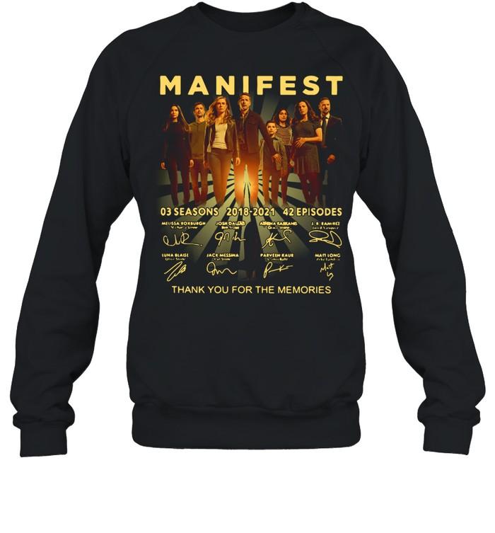 Manifest 03 Seasons 2018-2021 42 Episodes Signature  Unisex Sweatshirt