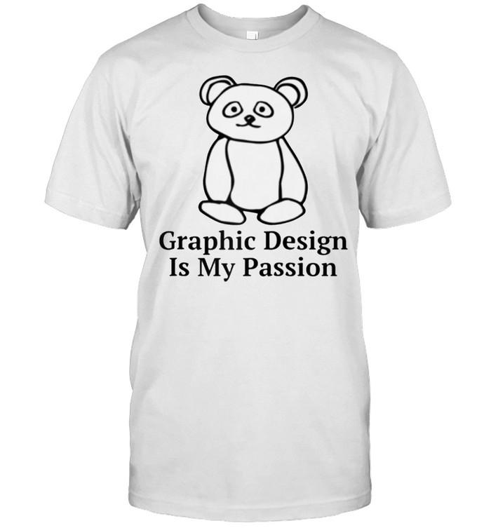 Graphic Design is My Passion Meme shirt Classic Men's T-shirt