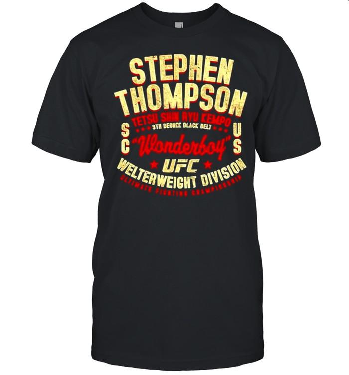 Stephen Thompson Wonderboy tetsu shin ryu kempo shirt Classic Men's T-shirt