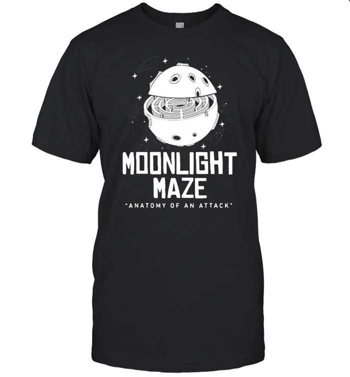 Moonlight Maze Attack Programming T-shirt Classic Men's T-shirt