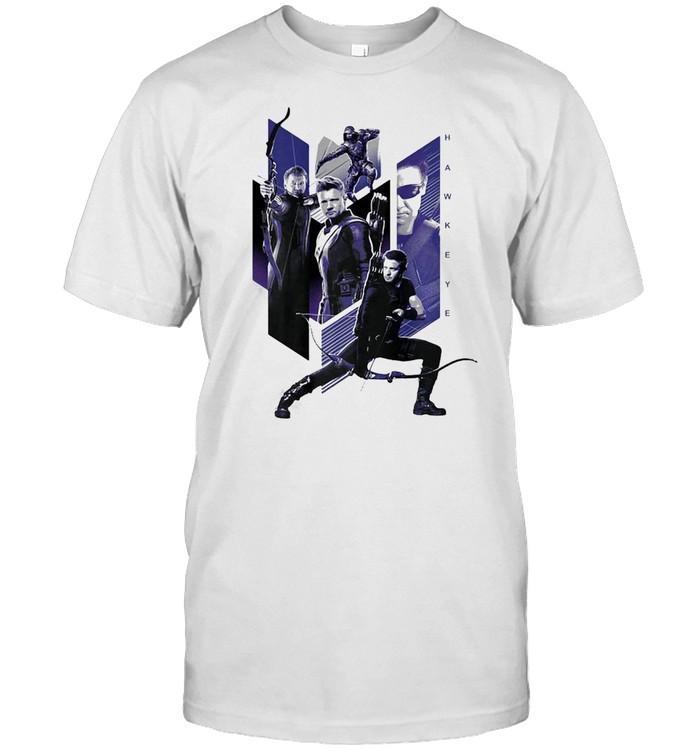 Marvel Avengers Endgame Hawkeye Mashup T-shirt Classic Men's T-shirt