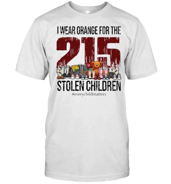 I wear orange for the 215 stolen children every child matters toys shirt Classic Men's T-shirt