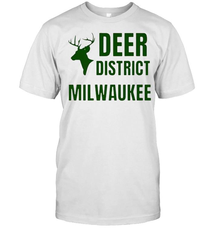 Deer District Milwaukee Fear Wisconsin Basketball T- Classic Men's T-shirt