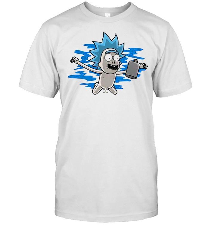 Rick Morty swimming summer shirt Classic Men's T-shirt