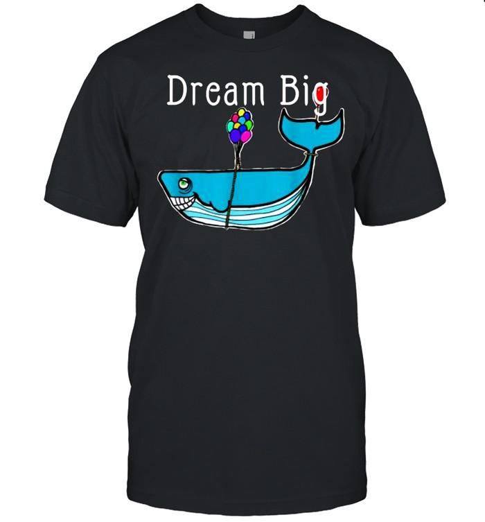 Dream Big Shark T- Classic Men's T-shirt