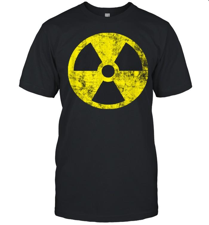 Radioaktivität Symbol Nuklear Atomkraft Röntgen Gefahr shirt Classic Men's T-shirt