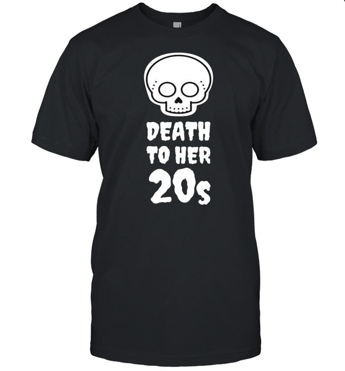 Death to 20s Black 30th Birthday Funeral Party Tombstone shirt Classic Men's T-shirt