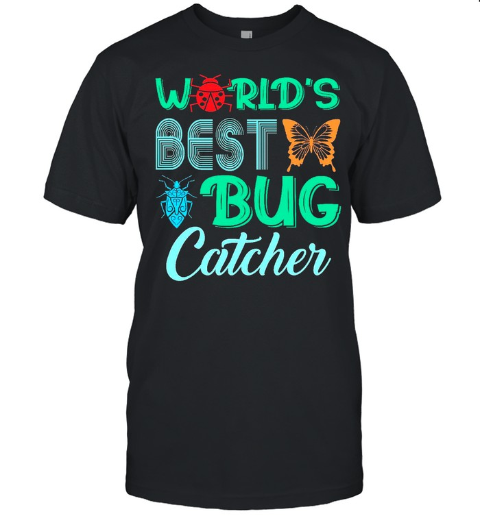 Worlds Best Bug Catcher Bug Hunter shirt Classic Men's T-shirt
