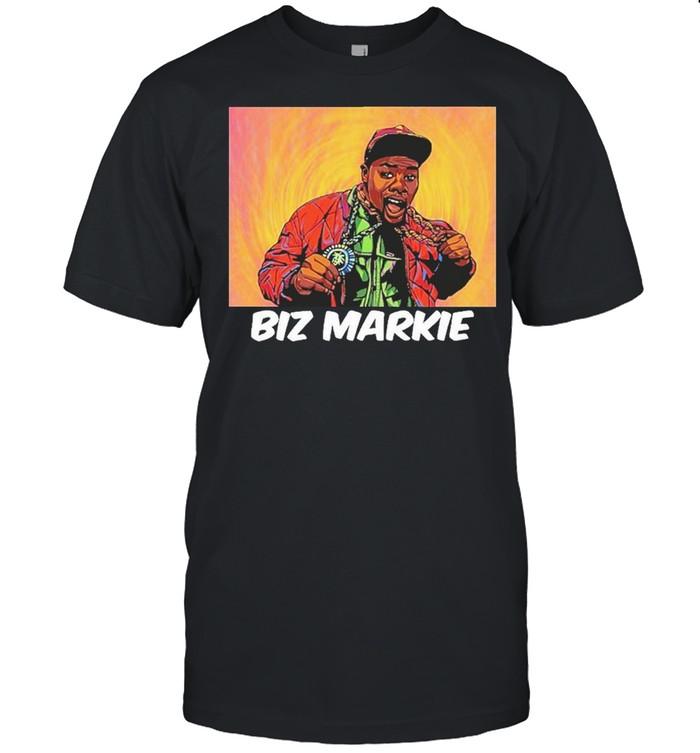 Biz markie graphic color print shirt Classic Men's T-shirt