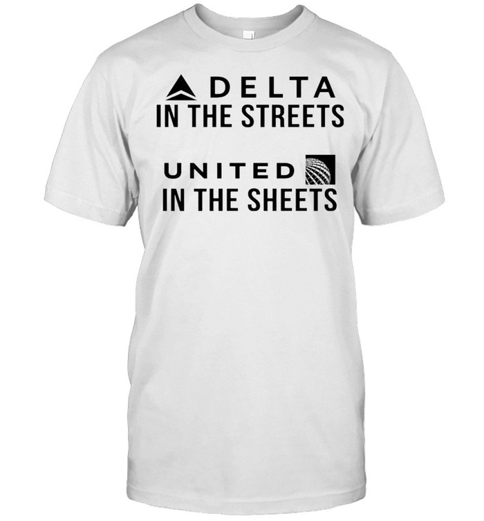 Delta in the streets united in the sheets shirt Classic Men's T-shirt