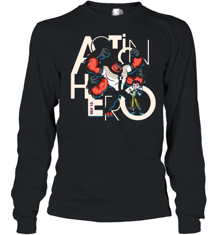 Ben 10 Action Hero shirt Long Sleeved T-shirt