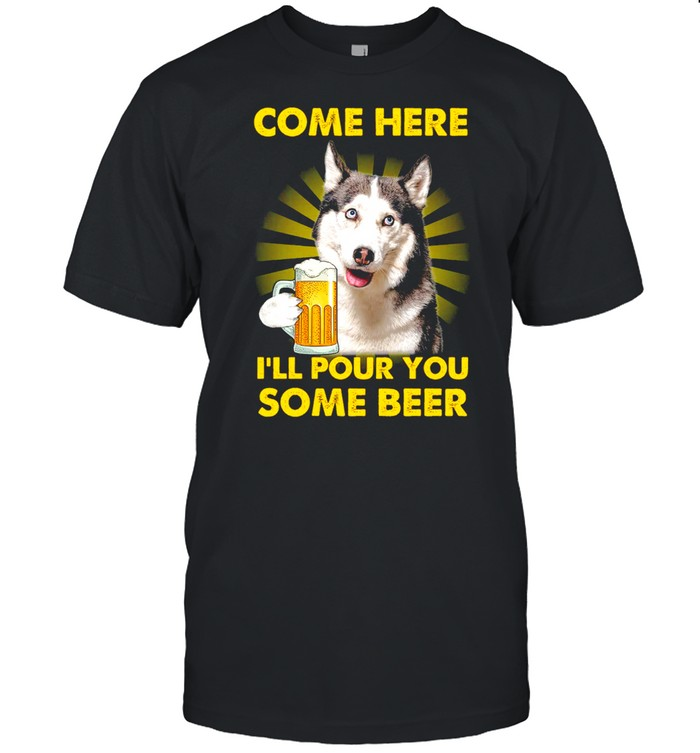 Come here i'll pour you some beer shirt Classic Men's T-shirt