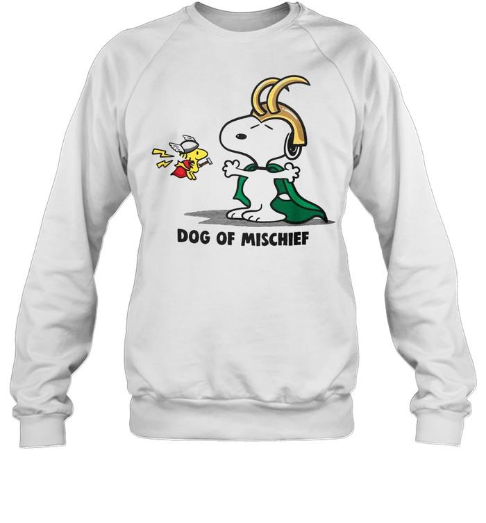 Snoopy Of Mischief shirt Unisex Sweatshirt