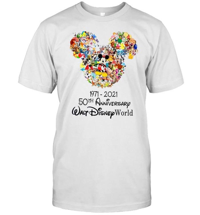 1971 2021 50th anniversary walt disney world shirt Classic Men's T-shirt