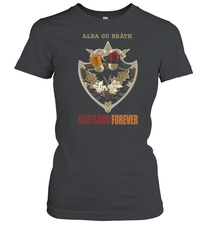 Alba Gu Bràth Scotland Forever T-shirt Classic Women's T-shirt