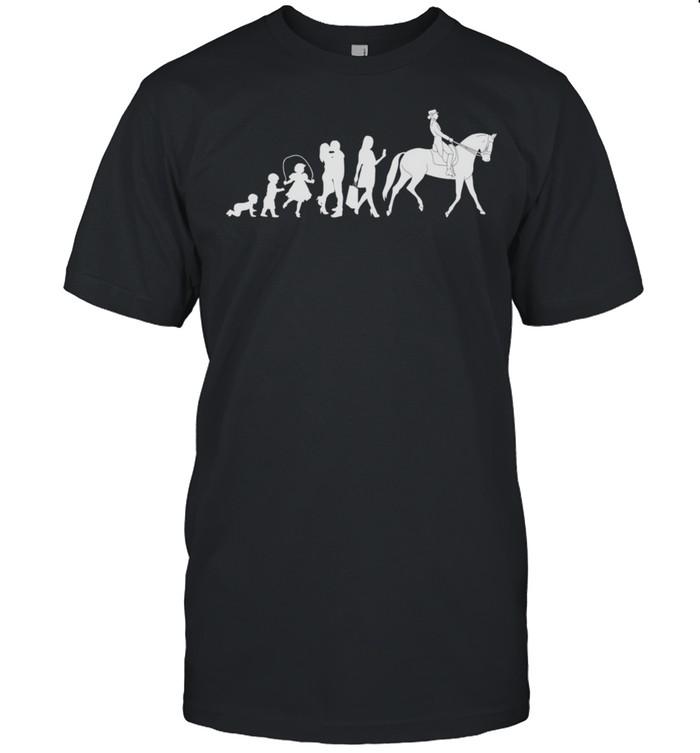 Dressage riding horses horse Dressage riding shirt Classic Men's T-shirt