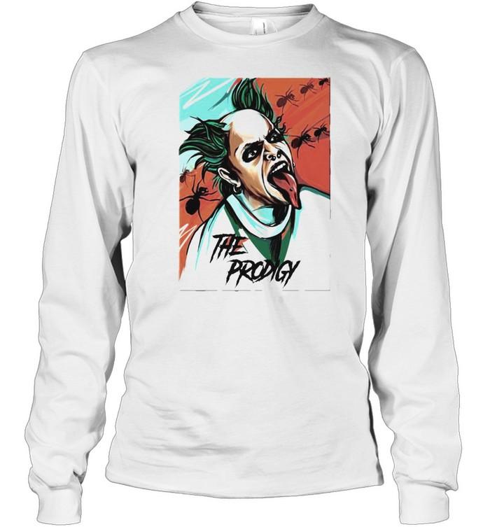 Keith Flint the prodigy shirt Long Sleeved T-shirt