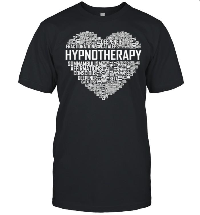 Hypnotherapy Heart Hypnotherapist Graduation T- Classic Men's T-shirt