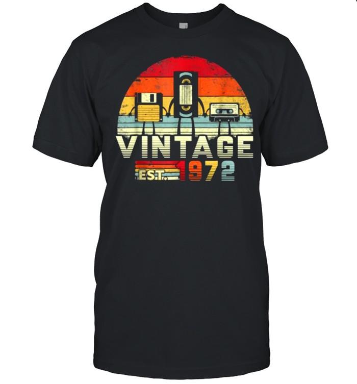 Vintage est 1972 Music Tech T- Classic Men's T-shirt