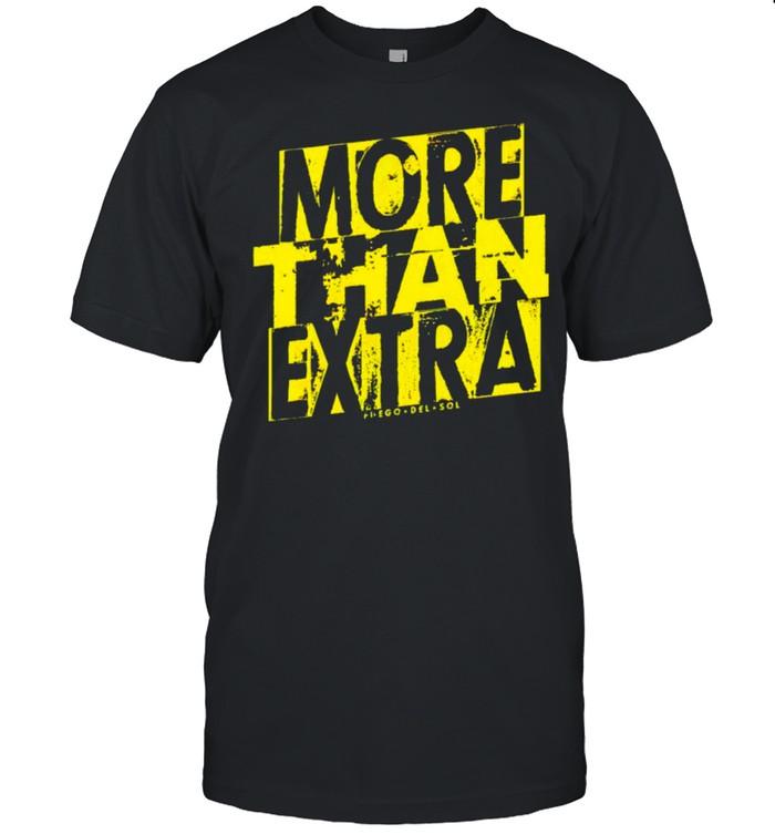 Fuego Del Sol more than extra shirt Classic Men's T-shirt