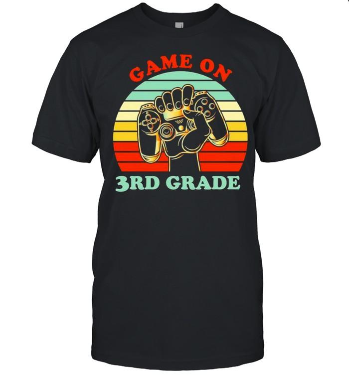 Game on 3rd grade vintage shirt Classic Men's T-shirt