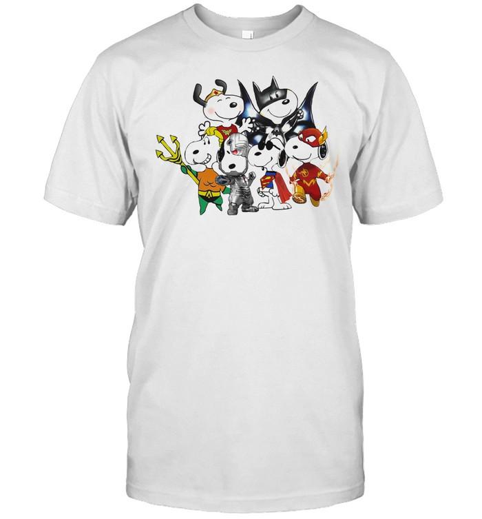 Snoopys Avenger  Classic Men's T-shirt