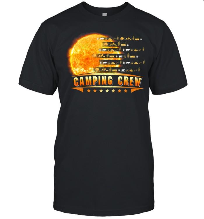 Camping Crew Moon shirt Classic Men's T-shirt