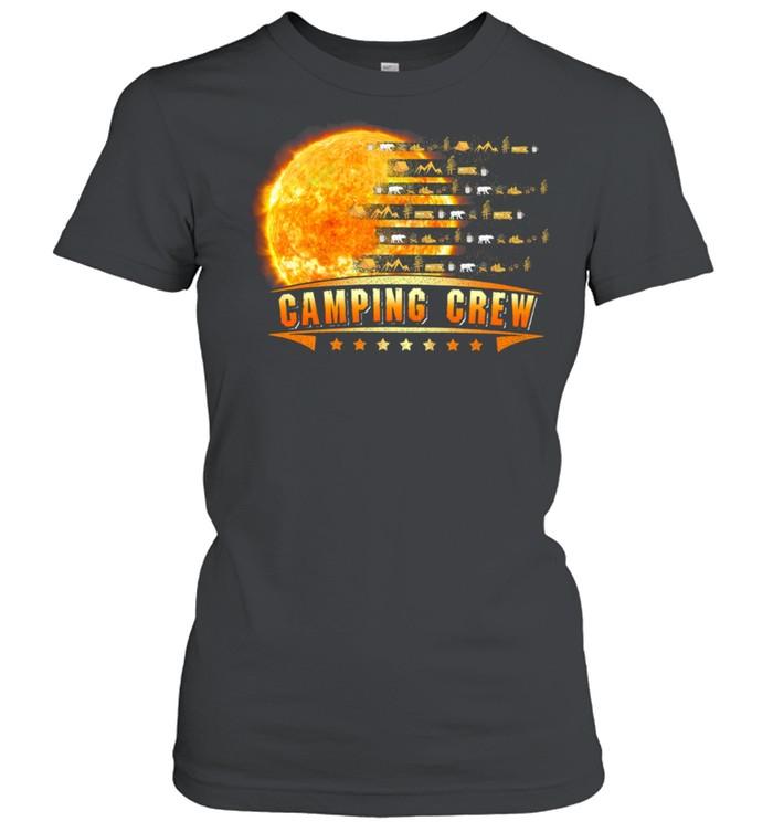 Camping Crew Moon shirt Classic Women's T-shirt