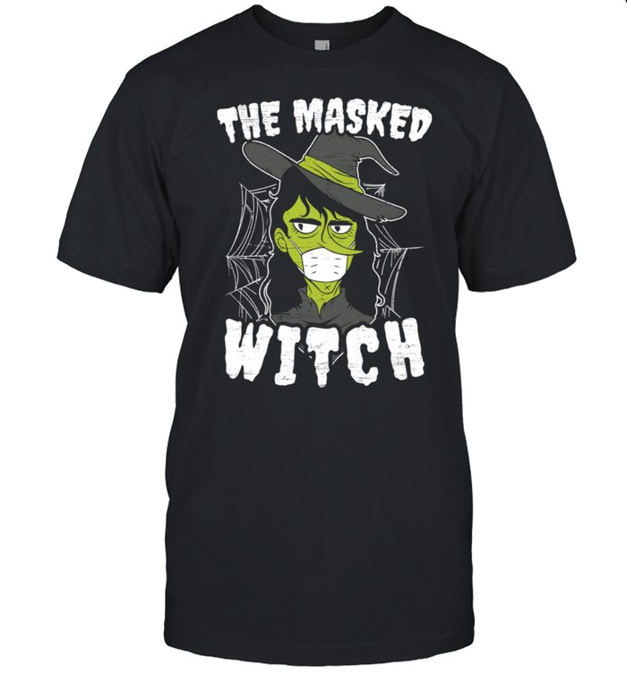 The Masked Witch Costume Spooky Halloween shirt Classic Men's T-shirt