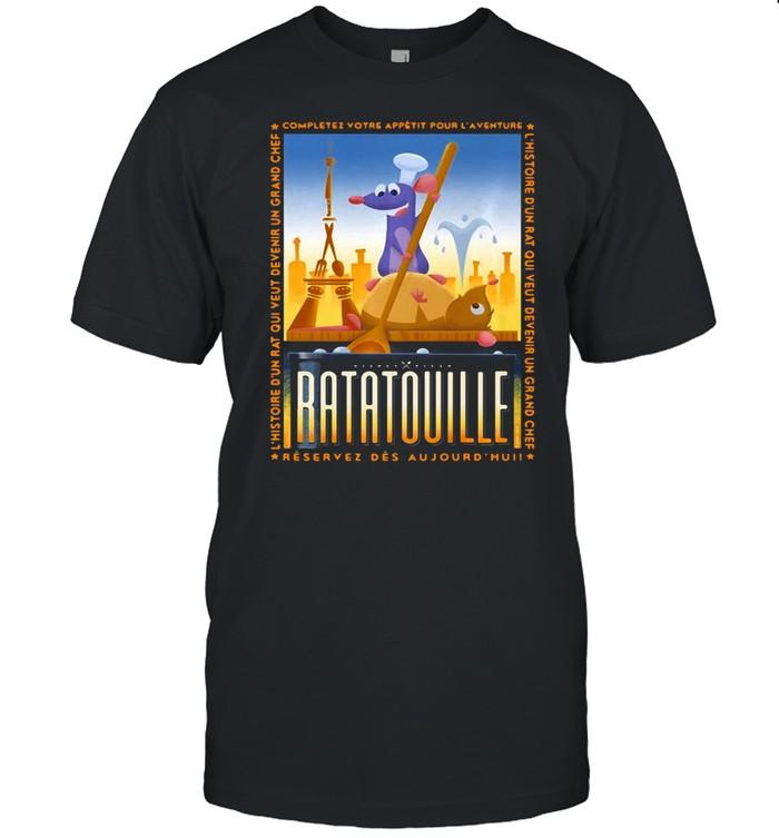 Disney Pixar Ratatouille Remy And Emile Cooking T-shirt Classic Men's T-shirt