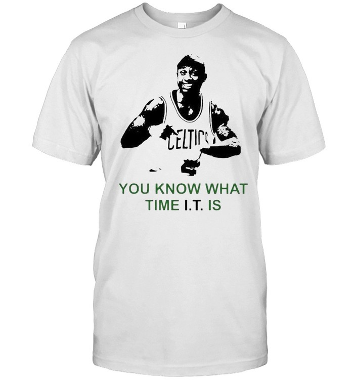 Isaiah Thomas you know what time it is shirt Classic Men's T-shirt