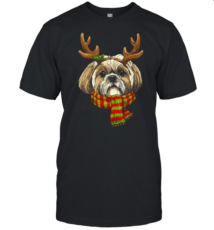 Shih Tzu Mom Dog Owners Lovers Animal Keepers Christmas T- Classic Men's T-shirt