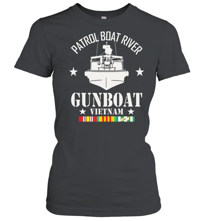 Patrol Boat River Gunboat Vietnam 1960 shirt Classic Women's T-shirt
