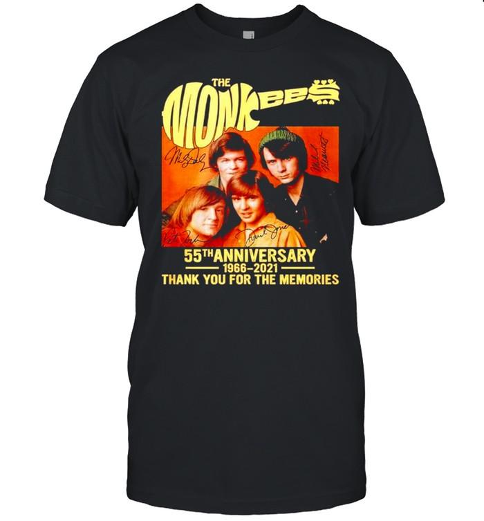 The Monkees 55th anniversary 1966-2021 signatures shirt Classic Men's T-shirt