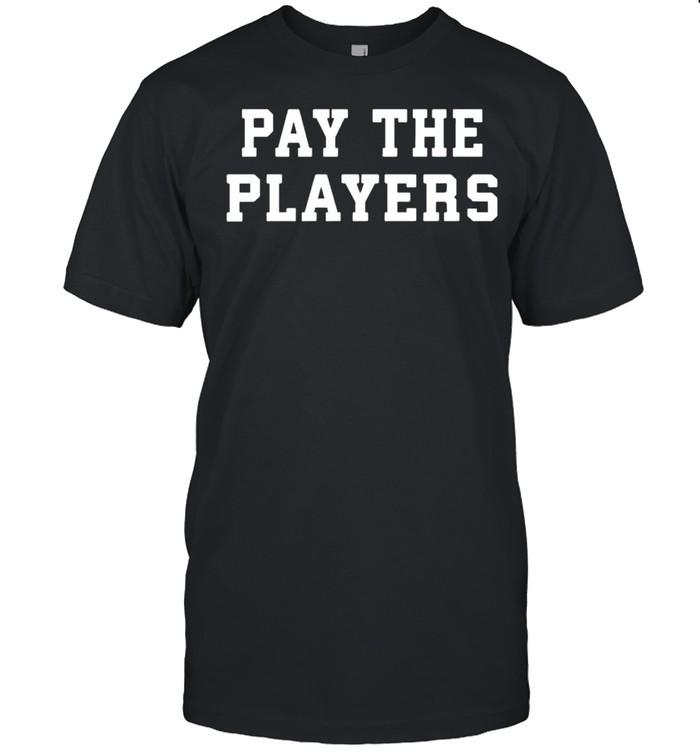 Pay the players shirt Classic Men's T-shirt