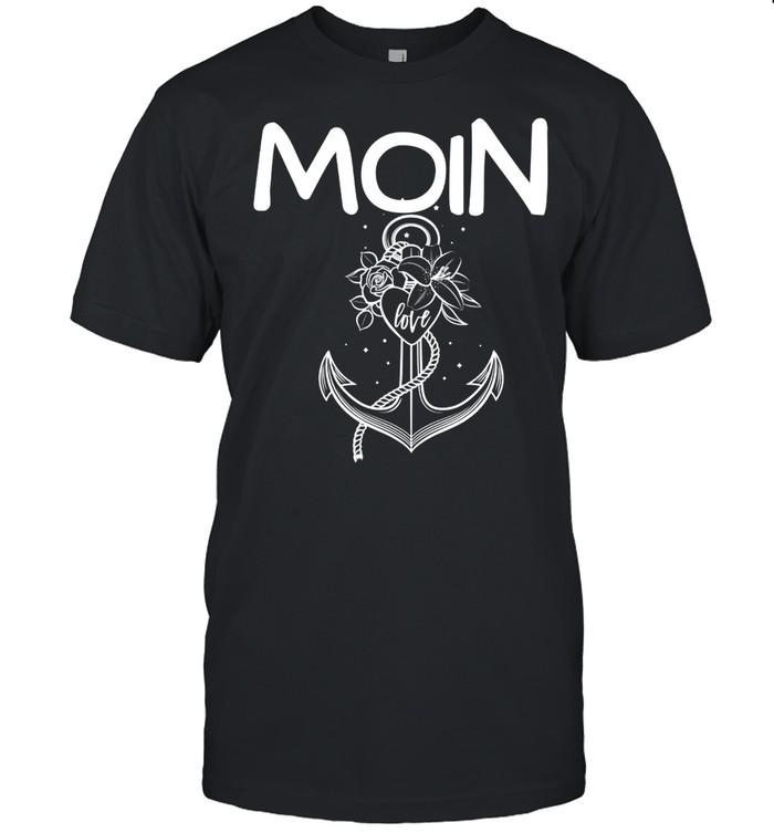 Moin Slogan North Sea Baltic North Germany shirt Classic Men's T-shirt