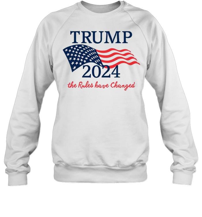 Trump 2024 the Rules Haave Changed  Anti Biden Unisex Sweatshirt