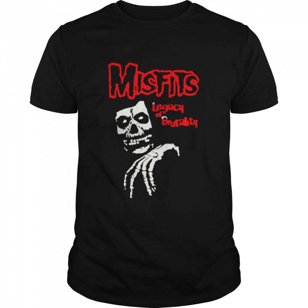 Misfits legacy of brutality shirt Classic Men's T-shirt